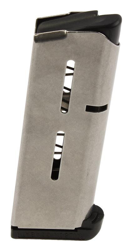 Magazine, .45 ACP, 7 Round, Compact, Standard Polymer Base, Stainless, New Wilson Combat