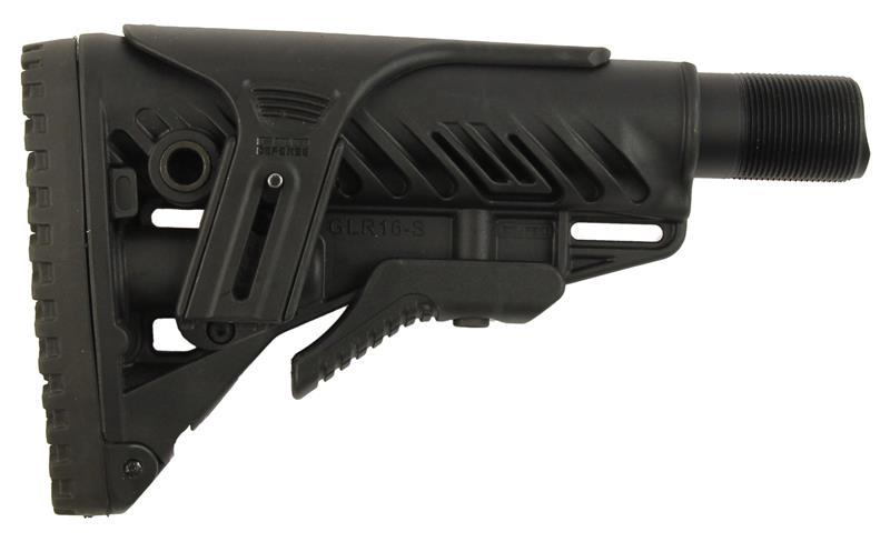 Stock, GLR16-S, Adjustable w/Extension, Storage, Cheek Riser New (10 BA Stealth)