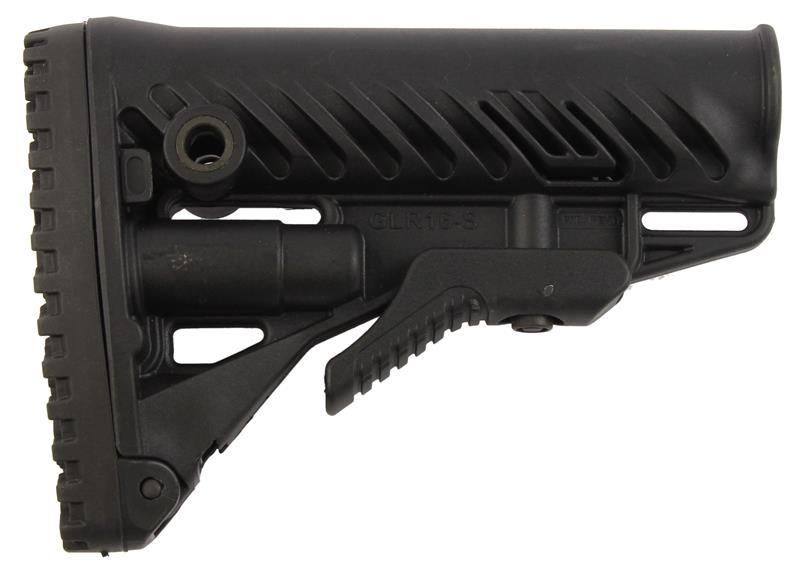 Stock, Adjustable, GLR16-S w/Recoil Pad, Extension Lever, New (10 BA Stealth)