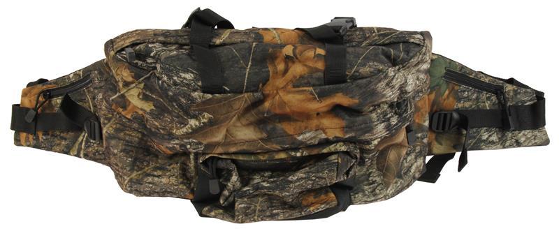 Backpack, 5 Pocket, Vent Belt System, Mossy Oak Breakup Camo, Used Allen