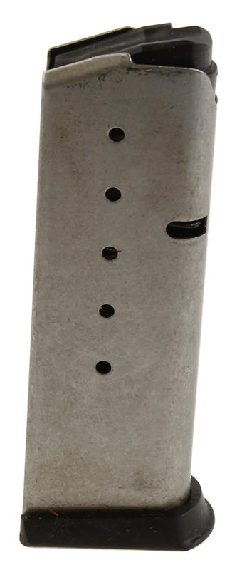 Magazine, .45 ACP, 6 Round, Stainless w/Standard Base,  Used (Factory)