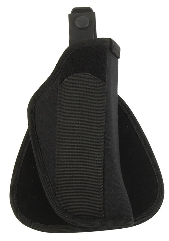 Paddle Holster, Black Kodra Nylon, RH, Size 15, New, Uncle Mike