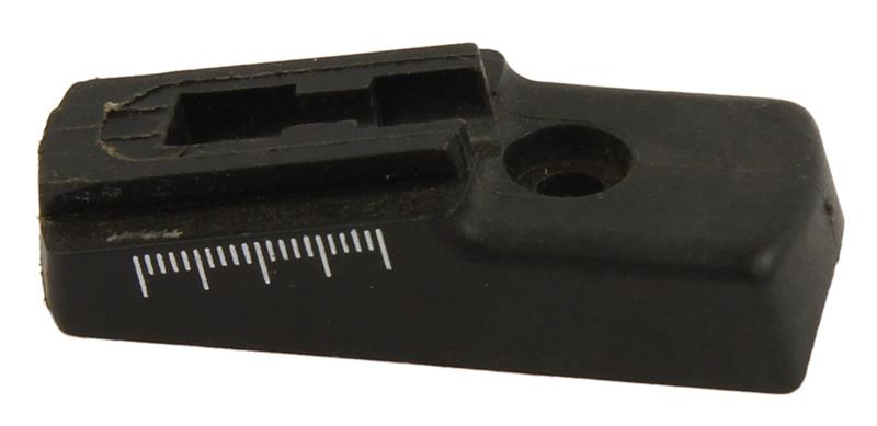 Rear Sight Base, Early 2 Screw Style, Plastic, Used Factory Original