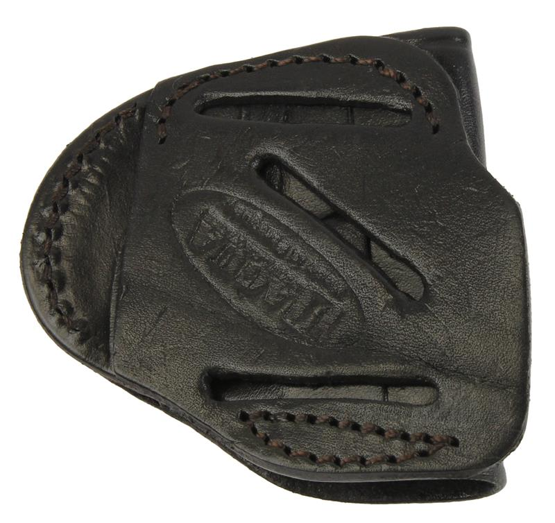 Holster, 4 in 1, RH, Open Top, Black Leather, New Tagua Mfg.