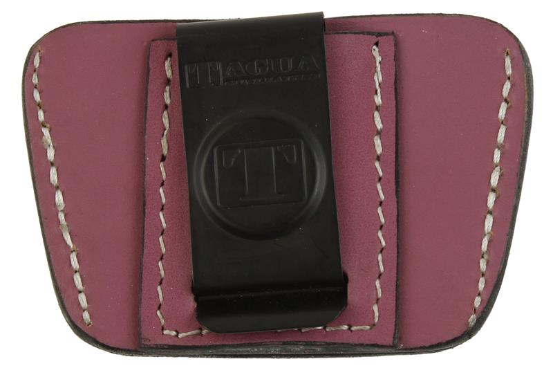 Holster, Ambidextrous, Inside The Waist, Pink Leather Leather, New (Tagua Mfg)