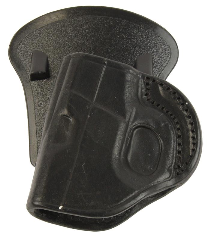 Holster, RH, Paddle, Black Nylon w/ Polymer Paddle, New (Tagua Mfg)
