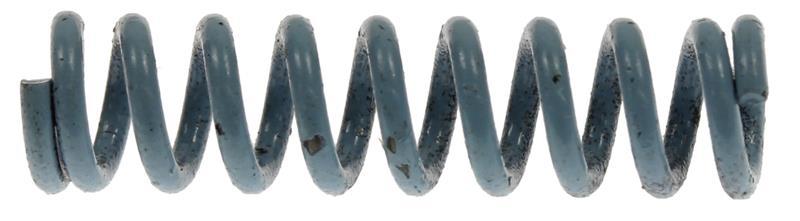 Trigger Guard Latch Spring, Medium, Blue, New Reproduction
