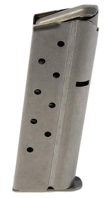 Magazine, 10mm, 8 Round., Floorplate Marked Colt 10mm, Stainless, Used Factory