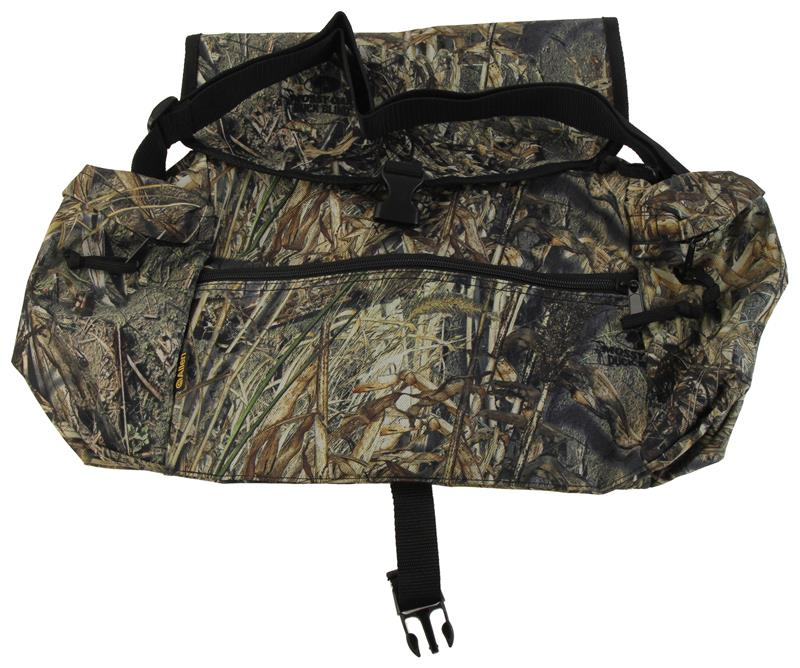 Accessory Bag, Mossy Oak Duck Blind Camo w/Shoulder Strap, New Allen