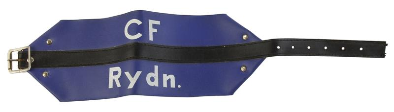 Arm Band, Danish Civil Defense, Marked CF Rydn., Used