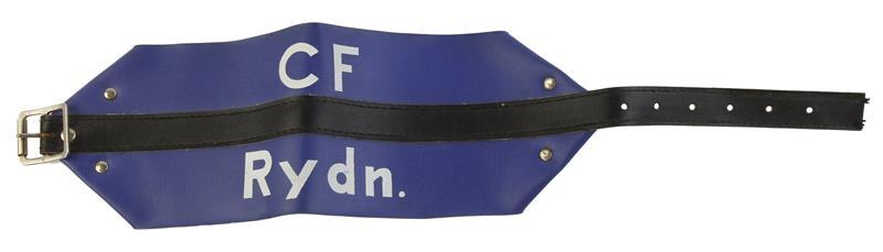 Arm Band, Danish Civil Defense, Marked CF Rydn., Used