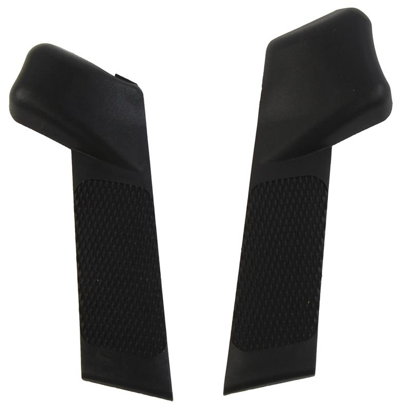 Accuracy Grip Set, R & L Side Panels, Size Medium, Black Plastic, Mascon Mfg.