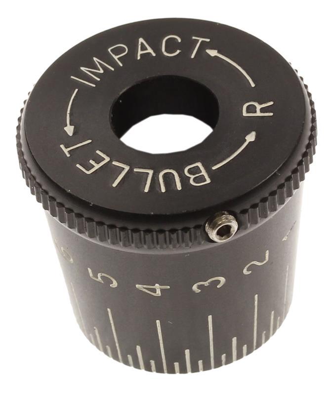 Ballistic Adjustable Turret Cap w/Set Screw, New