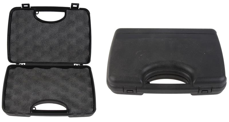 Gun Case, Marked Grand Power CP380., Black Plastic, Used Factory