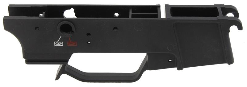 Trigger Housing, Stripped, Black Synthetic, Used Factory