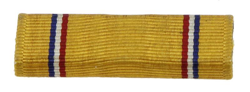 American Defense Medal Ribbon, WWII, Viking Kwikset, Used