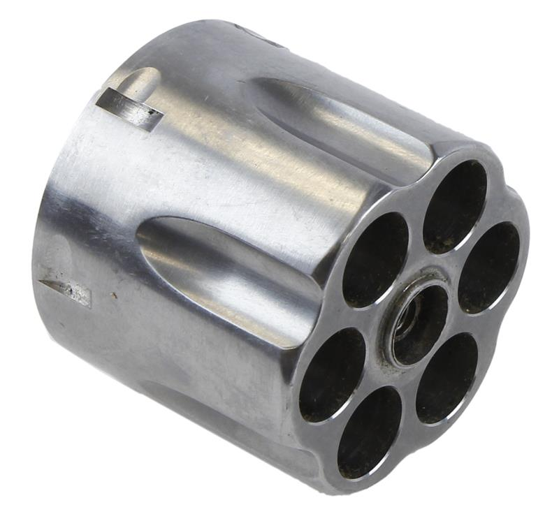 Cylinder Assembly, .45 ACP, 6 Shot, Stainless w/New Style Extractor, New Factory