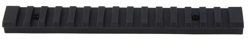 Picatinny Rail, Black Synthetic, Used Factory