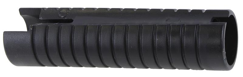 Forend, 12 Ga, Ribbed Black Synthetic, Used Reproduction - styles vary