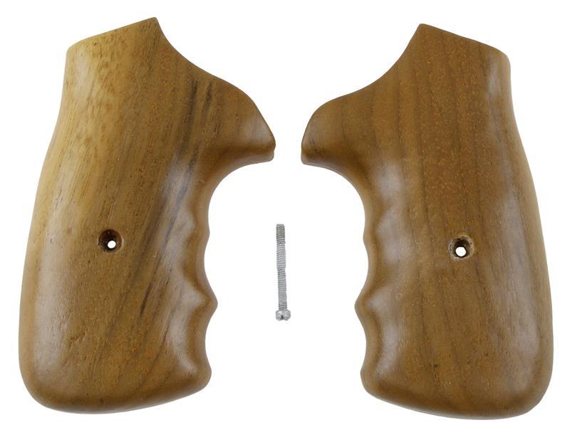 Grips, Square Butt, Gunfighter Style, Over Sized, Plain Walnut, New Jay Scott