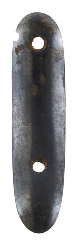 Buttplate, Smooth, Steel, Used Factory