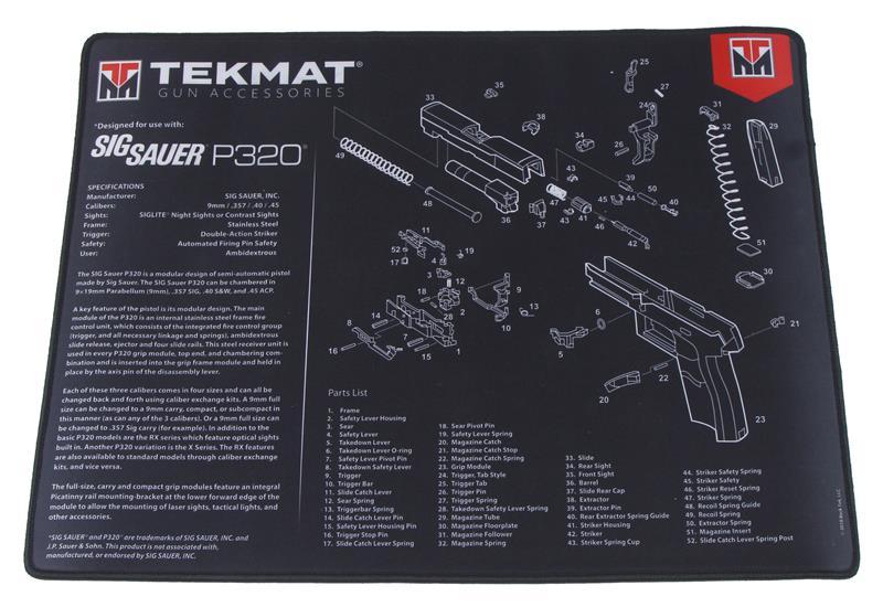 TekMat Handgun Mat, 15