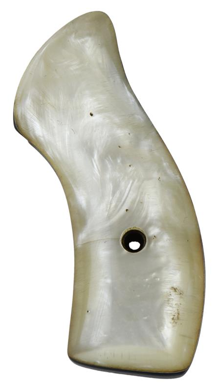 Grip, Left, Magna, Round Butt, White Pearl, Used Reproduction