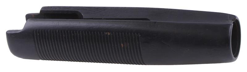 Forend, 12 & 16 Ga., Black Ribbed Hardwood, Used (For 7-5/8