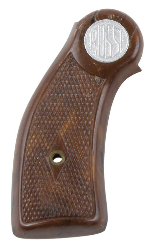 Grip, Right, Unweighted, Brown Plastic w/ Rossi Logo, Used Factory Original