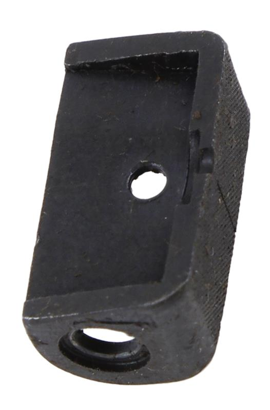 Rear Sight Aperture, Late Style, Squared Toward Front, Pin On, Used