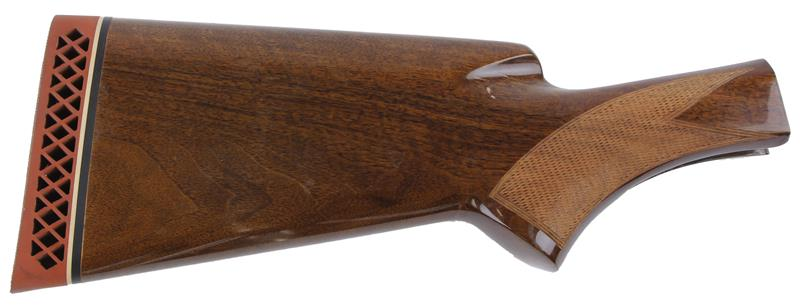 Stock, 12 Ga. Mag, Checkered Walnut w/ F.N. Herstal Recoil Pad, Used Factory