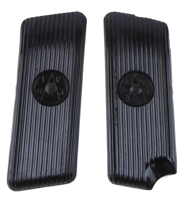 Grips, Black Hard Rubber, New Factory Original