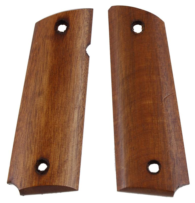 Grips, Full Size, Smooth Walnut, Used