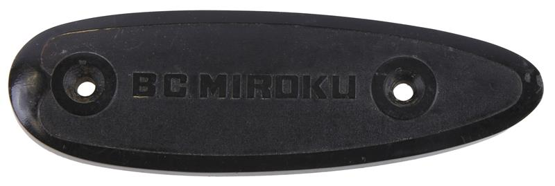 Buttplate, 16, 20, 28 & .410 Ga., Marked BC Miroku, Used Factory Original
