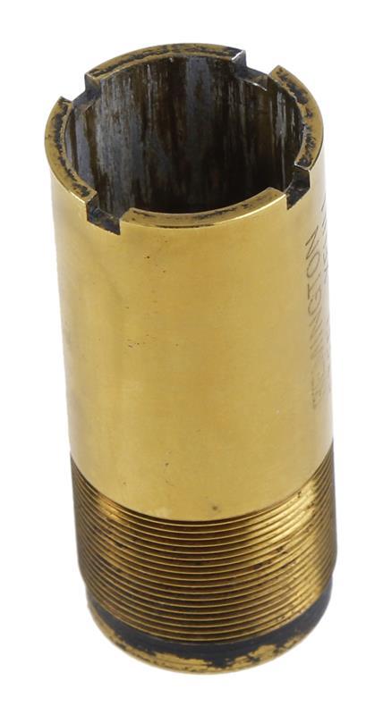 Choke Tube, 12 Ga., Flush, Gold Plated, Used Factory Original