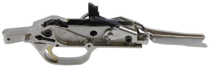 Trigger Guard Assembly, 20 Ga., Nickel w/Carrier, New Factory Original