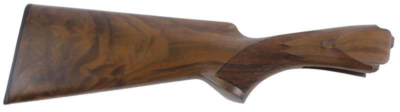 Stock, 12 Ga, Game, Grade 3, Oiled Checkered Walnut, New Factory Original