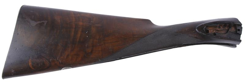 Stock, Straight Grip, Checkered Walnut w/Buttplate, Used Factory Original