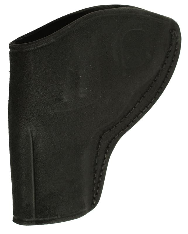 Holster, RH, Open Top, Ultimate Concealment, Black Leather (Tagua Mfg)