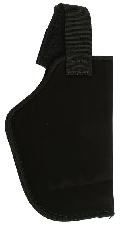 Holster, LH, In The Pant, Black Suede (w/ Strap; Blachawk Mfg)
