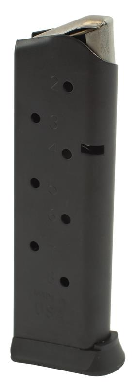Magazine, .45 ACP, 8 Round, Matte Black, New (Removable Floorplate; Brownells)