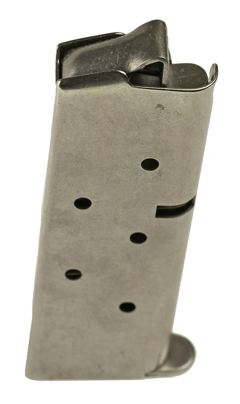 Magazine, .380 Cal., 6 Round, Stainless, New (Factory)