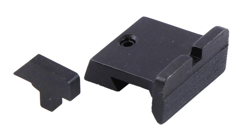 Sight Set, Target Style, High Profile, Fixed Rear Sight w/Ramp Front, King's