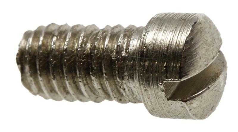 Plate Screw, Round Head, Nickel