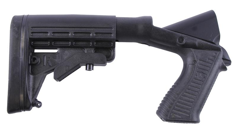 Stock Assembly, 12 Ga., Adjustable, Black Synthetic, Knoxx Special Ops