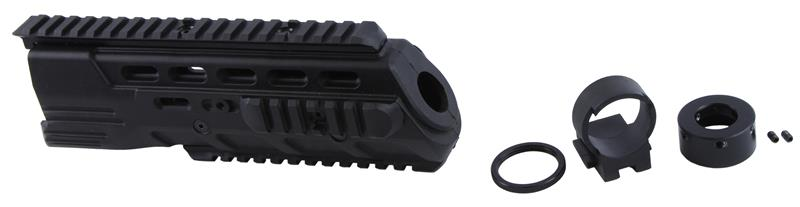 Forend, Tactical, Quad Rail, Black Synthetic w/Hardware