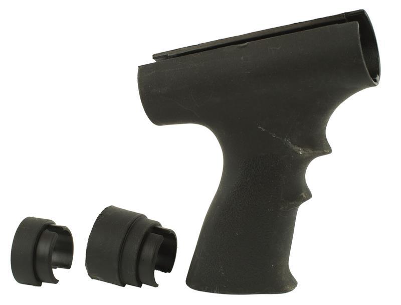 Forend, 12 Ga., Black Polymer w/Front & Rear Adaptors, Used ATI Mfg