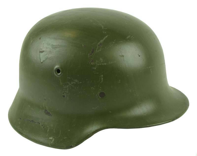 German M35 / 40 Helmet, Original Post WWII, Used (Shell Only w/o Suspension)