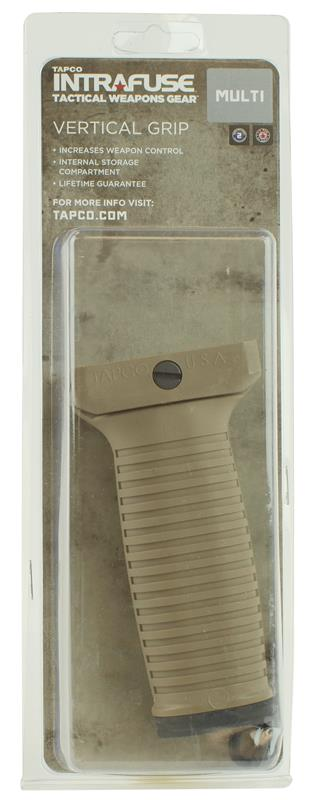 Vertical Grip, Tapco Intrafuse System, Flat Dark Earth