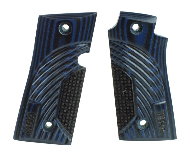 Grips, NRA Special Edition Blue, G10 Material, New